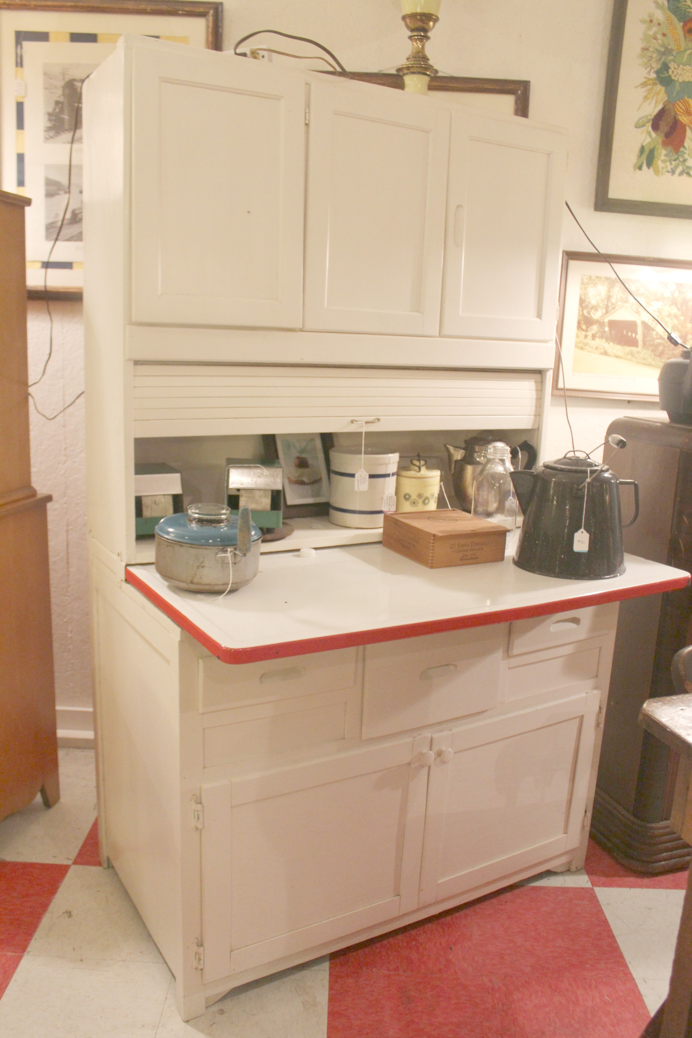 Hoosier Kitchen Cabinet Hoosier Style Kitchen Cabinet Monsterlune